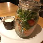 炭焼バル SACHI - メイソンジャー大地の恵みサラダ