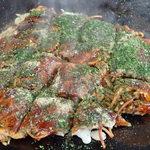 お好み焼き まりちゃん - 料理写真:「肉入りジルバ焼」(580円)