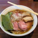麺や真登 - 鶏だし醤油チャーシュー(980円・中盛)