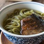 辰巳屋 - 鰊の茶蕎麦
