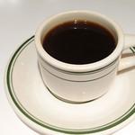 61612209 - ランチセットのホットコーヒー