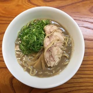 天骨庵 慶心 - 料理写真:濃厚鶏豚骨(750円)