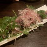 ルフージュ - 真サバの燻製サラダ