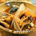 酒場 やまと - 魚のアラ煮
