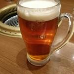 味蔵天国 - 琥珀エビス(中)580円