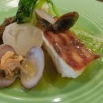 メゾン・ド・ヨシダ - 昼膳(デジュネ)魚料理