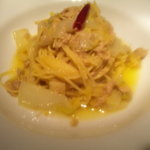 マティー - ツナと白菜のアンチョビソース 柚子風味