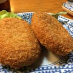 一 - 牛肉コロッケ186円×2税抜き
