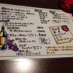 61624112 - 2016.12月                       飲み放題メニュー