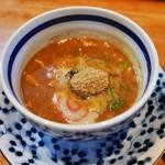 大勝軒 - 濃厚つけ麺のつけ汁