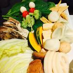 61628597 - 野菜盛り合わせ(満喫コース)