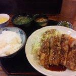 源八 - 鳥の源八揚げ定食①(770円均一)