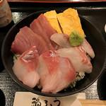 福ろう - 三色丼定食