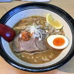 札幌鮭ラーメン麺匠 赤松 - 「和こく 鮭だし 醤油」864円 (東武池袋店 北海道展)