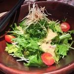 61635737 - 生姜とりんごのドレッシングサラダ