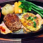 ほの字 - ほわほわハンブルグ&豆腐ハンブルグ