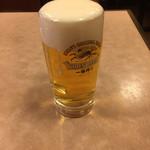 安記 - 生ビール