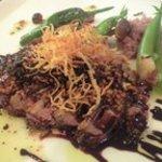 ビストロ・ヨシムラ - Bランチメイン『フランス産鴨肉のポワレ・玄米茶のロースト添え』