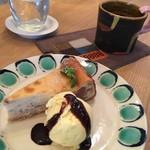 イマソラ珈琲 - チーズケーキ&フォルテコーヒー