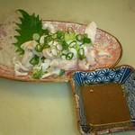 志摩磯料理かもめ家 - さめなます500円