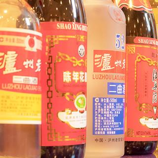 樽から注ぐ紹興酒は絶品