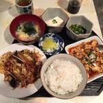 旬の香 - お楽しみランチセットのご飯並盛780円(税込)