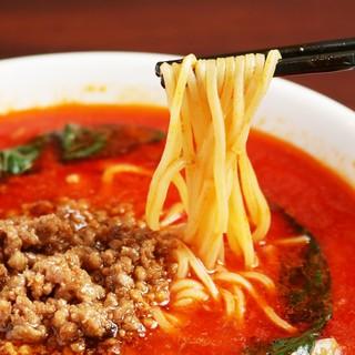 担々麺(汁あり、汁なし)