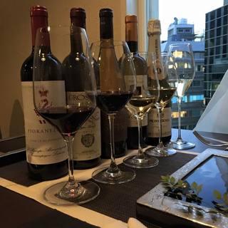 ワインとのマリアージュをお楽しみください