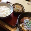 あかし庵 - 料理写真:かつ煮定食(900円)★★★★☆