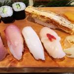 宝寿司 - 料理写真:2017.1.24。ランチにぎり1