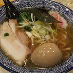 日本橋古寿茂 - 醤油ラーメン 味玉