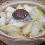 味成 - タラ鍋