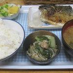 味成 - サバ塩焼き定食