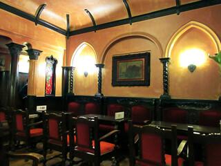 フランソア喫茶室 - 今は禁煙。以前の喫煙スペース