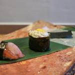かわ村 - 2017年1月再訪:antipasto わたり蟹と甘海老の握りゾット☆