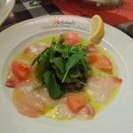 イル キャンティ ビーチェ - かんぱちのカルパッチョ