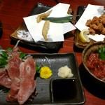 薩摩のくつろぎ酒場 わびさび - 食べかけの料理