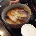 れすとらん 八家 - 豚バラチャーシュー麺(^∇^)