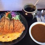黒んぼ食堂 - 料理写真:オムライスセット1,598円