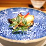 新ばし 星野 - メヌケの味噌焼き