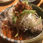 きんぼし 伏見店 - 鶏合酢