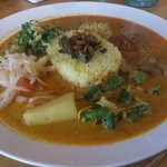 イスルランカ - ・Special Curry Plate 1380円