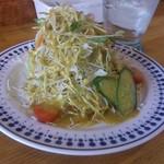 イスルランカ - ・Special Curry Plate サラダ