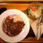 お食事処かとう - 料理写真:ハヤシライス(500円)(2017/01/24)