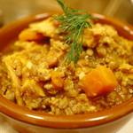 加藤食堂 - トリッパのトマト煮込ディル風味