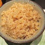 一福庵 - 玄米