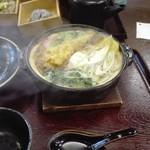 松屋そば店 - 鍋焼きうどん900円