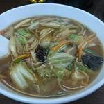 中華・ラーメン 福留 - 広東麺
