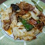 中華・ラーメン 福留 - 回鍋肉