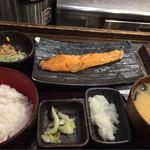 しんぱち食堂 - 朝じゃけ定食 400円